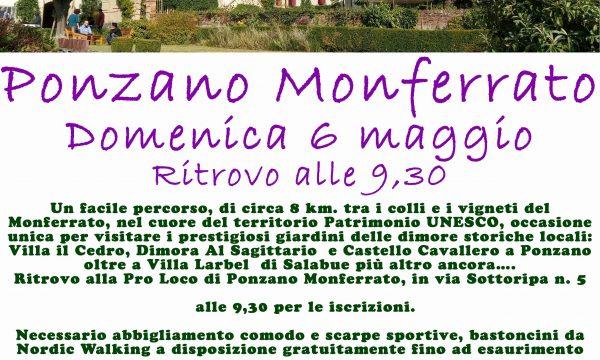 """Passeggiata """"di giardino in giardino"""" a Ponzano Monferrato"""