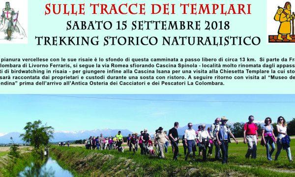 SULLE TRACCE DEI TEMPLARI – TREKKING STORICO NATURALISTICO