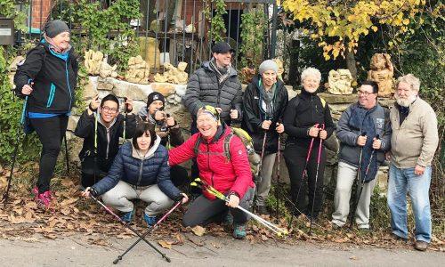 Si è conclusa la sessione autunnale di Nordic Walking al Centro Diurno L'Albero in Fiore