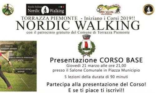 Corso base di Nordic Walking a Torrazza Piemonte (TO)