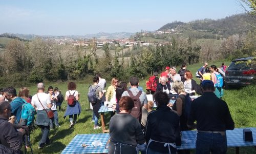 Cronistoria Camminar Mangiando a Montaldo di Cerrina