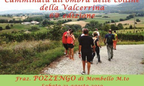 Camminata all'ombra delle colline della Valcerrina