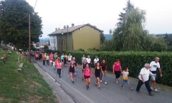 Cronistoria camminata notturna di Ponzano
