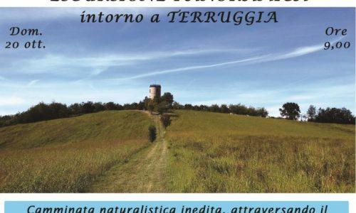 Escursione panoramica intorno a Terruggia