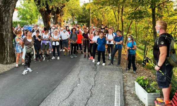 Cronistoria della Camminata notturna di Ponzano M.to