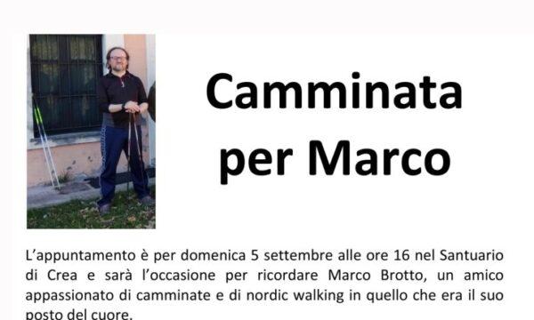 Camminata per Marco